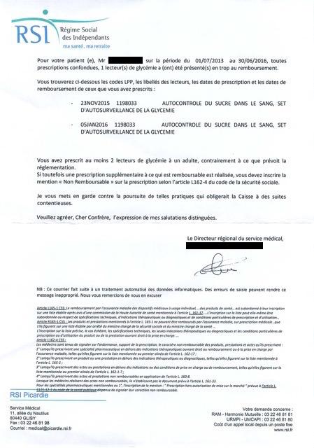 Le Rsi Confond Prescription Et Facturation Federation Des Medecins